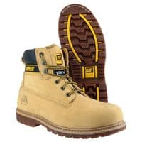 Caterpillar Holton S3 Goodyear Welted Safety Honey